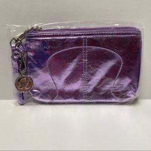 Lululemon cha-Ching clutch purple